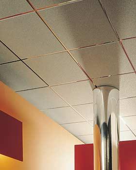 Ceiling tile grids